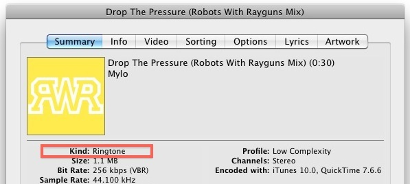 how to create m4r from mp3 itunes