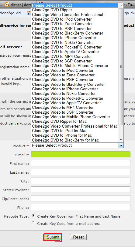 socusoft, retrieve registration name and code, key code, key, code